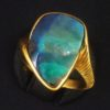 Ring Gelbgold Opal 02