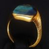 Ring Gelbgold Opal 04